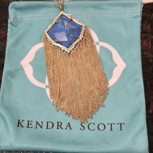 Kendra Scott Kingston turquoise necklace